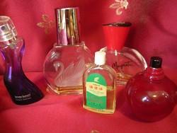 Parfümös üvegek (5 db)