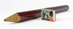 0T356 Retro nagyméretű ceruza dísz 40 cm
