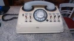 Mechanikai művek régi telefon