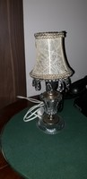 Empire kristaly asztali lampa
