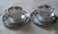2 személyes Wellington China reggeliző szett