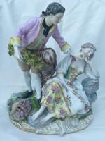 Altwien porcelán az 1800-as évekből. 29 cm magas!!!
