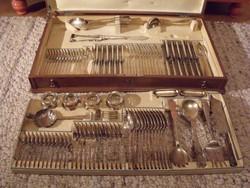 12-személyes ezüst étkészlet (1867-1922 közötti)