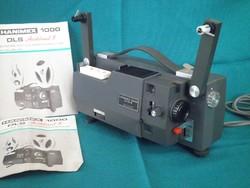 Hanimex 1000 iq dls 8mm es filmvetítő