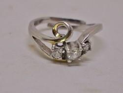 Szép állítható ezüstgyűrű