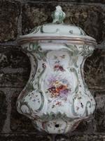 Antik fajansz falikút