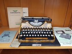 Extra ritka Continental 340 arany ( gold ) írógép