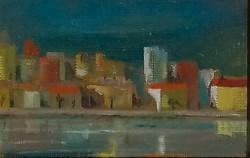 Vén Emil (1902-1984): Házsor (Olaszország)