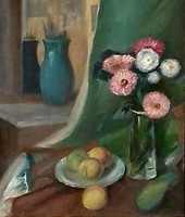 Czimra Gyula (1901-1966): Csendélet műteremben