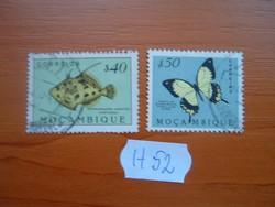 MOZAMBIK 40+50 E 1951 HAL,1953 LEPKE  2 DB  H52