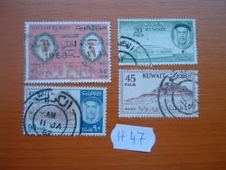 KUWAIT VEGYES 4 DB  H47