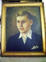 Antik kvalitásos fiú portré (1944 márius 1.)