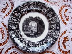 Villeroy&Boch süteményes tányér a XIX. század első feléből