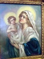 Asztalos Gyula festmény