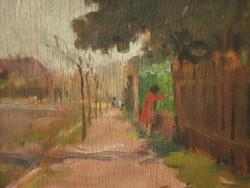 Cs. Farkas Lőrinc (1898 - ) : Utcarészlet