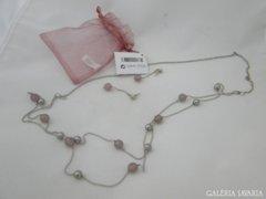 5621 Modern női fém lánc nyaklánc + fülbevaló