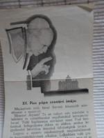 XII. Pius pápa szentévi imája (imalap, 1949, Katolikus Egyház)