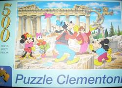 Régi Disney puzzle-k Clementoni, Trefl 500 ill. 1000 db-os