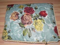 Csodaszép szecessziós shabby chic vintage antik rózsás díszpárna