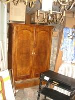 Bieder,antik, szekrény  keskeny