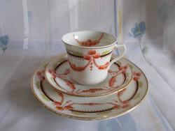 Royal Albert Crown china T.C.W. viktoriánus porcelán reggeliző szett
