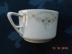 1899 Eichwald szecessziós girlandos teás csésze