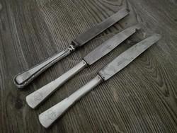 Ezüst kések