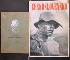 Hekler:Az Újkor Művészete 251 oldal+Csehslovensko 1949, 35 oldalas