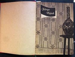 Fürge Ujjak 1957-1962 25 számot tartalmaz a kötet.