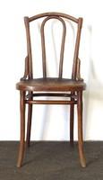 0T429 Antik jelzett bécsi thonet szék