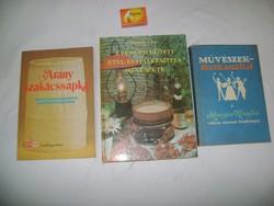 Retro szakácskönyv 1981, 82, 89 - három darab - gyűjtőknek