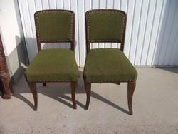 Antik kárpitozott szék 2 db