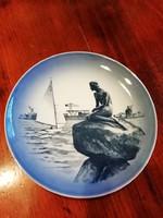 Royal Koppengagen porcleán fali tányér