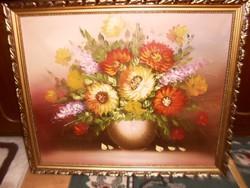 Virág csendélet  59 cm