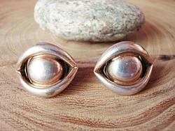 Vintage ezüst fülbevaló/klipsz