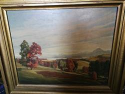 Német galériás festmèny