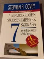 Stephen R. Covey:A kiemelkedően sikeres emberek 7 szokása.1500.-Ft