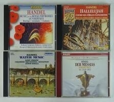 0T448 Georg Friedrich Händel CD zene csomag 4 db