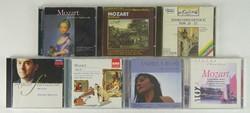 0T446 Wolfgang Amadeus Mozart CD zene csomag 7 db