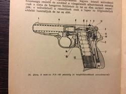 9 mm PA-63 pisztolxy javaitási utasitása  1965
