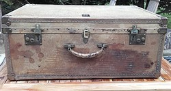 "1887-1914 ""Drew & Sons Piccadilly Circus""  Antik koffer ,bőrönd,utazóláda,utazó táska"