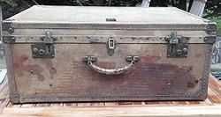 """Drew & Sons Piccadilly Circus""  Antik koffer ,bőrönd,utazóláda,utazó táska 1887-1914"