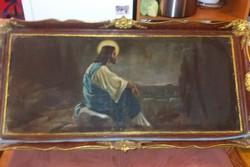 Jelenffy: Jézus az olajfák hegyén, 130 cm +, olaj, vászon