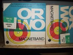 Szalagos magnókazetta eredeti bontatlan csomagolásban