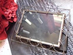 Ezüstözött fém asztali képkeret