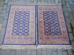 Perzsa selyem szőnyeg párban.