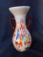 Muránói üveg váza.Hibátlan.Nagy.