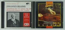 0T472 Johannes Brahms CD 2 db
