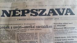 Népszava újság 1987-ből 23 db eladó!
