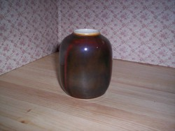 Különleges régi hollóházi váza (178.)